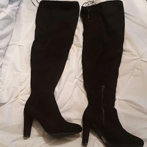 Thigh High Black Boots